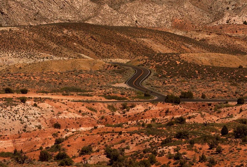 A road to nowhere? Arches National Park.<br /> Photo © Cindy Clark