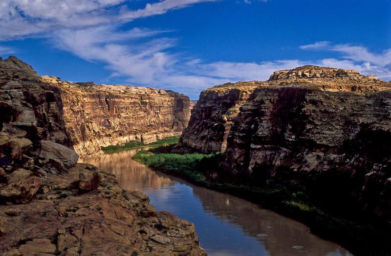 Old Man River. Actually the Colorado.<br /> Photo © Carl Clark