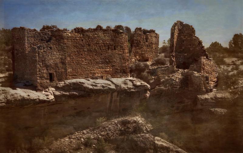 More Anasazi ruins at Hovenweep National Park.<br /> Photo © Cindy Clark
