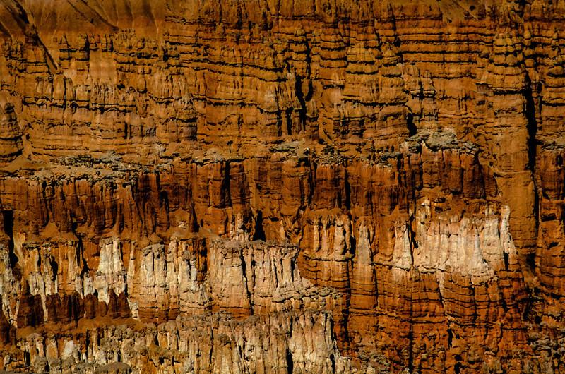 Piles of hoodoos in Bryce Canyon.<br /> Photo © Carl Clark