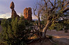 A peaceful morning at Balanced Rock - Arches.<br /> Photo © Carl Clark