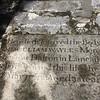 Barbados Headstone