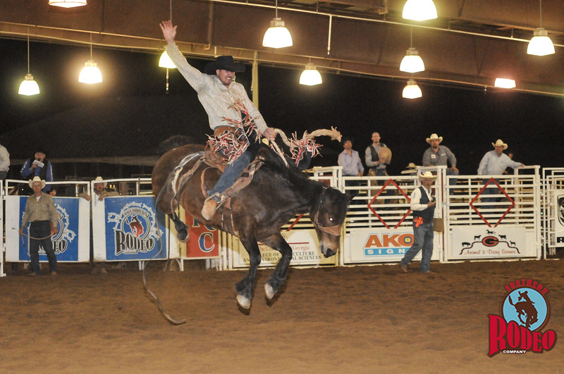 Southern Rodeo Company Athens 2013 Saddle Bronc