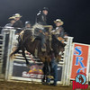 Shawn Minor takes on Super Star at Jasper Bulls and Broncs Oct 12, 2013