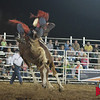 Trey Moore takes on Short Fuse at Jasper Bulls and Broncs Oct 12, 2013