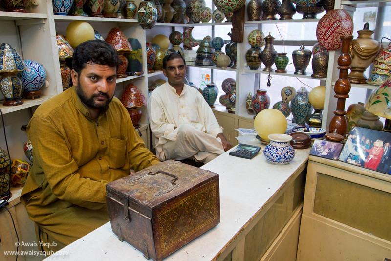 Handicraft seller in Multan