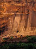 Evening shadows approach the White House in Canyon de Chelly.<br /> Photo © Cindy Clark