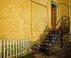 Alley décor in my new  favorite town in Arizona - Bisbee!<br /> Photo © Cindy Clark