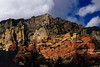 Vivid colors in the rocks near Sedona.<br /> Photo © Cindy Clark