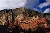 Vivid colors in the rocks near Sedona.<br /> Photo © Cindy Clark