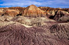 We were fortunate to see the Painted Desert shortly after a heavy rain brought out the colors.<br /> Photo © Cindy Clark