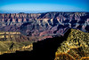 And expanse of layers and colors at Cape Final on the North Rim of the Grand Canyon.<br /> Photo © Carl Clark