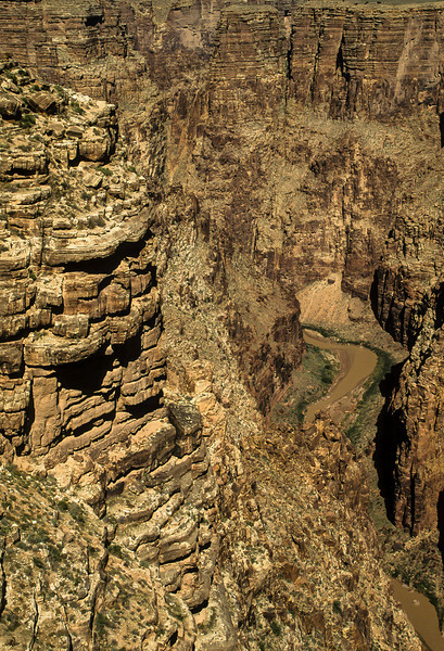 The Little Colorado River Gorge in eastern Arizona.<br /> © Cindy Clark