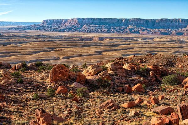 Cracks in the Ground, Vermillion Cliffs, Arizona
