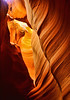 Antelope Canyon Looking Up - Page, Arizona