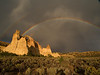 <center><b>Rainbow at Grosvenor Arch</center></b>