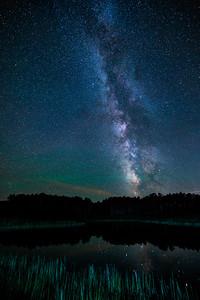 Starry Sky over, Heber, Utah