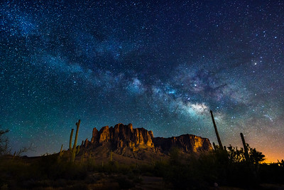 A Superstition Night, Arizona