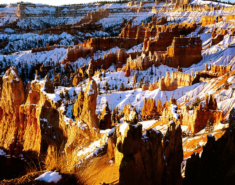 Sunrise on Bryce Canyon National Park, Utah