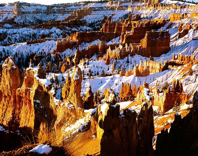 Sunrise on Bryce Canyon National Park, Utah