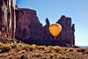 Hot Air Balloon - Monument Valley Navajo Tribal Park, Utah