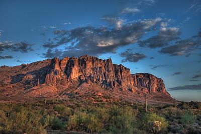 Superstition Mountains - AZ