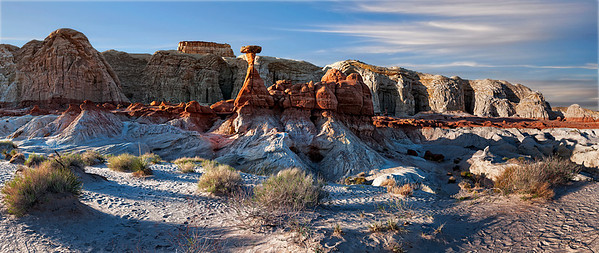 The Toadstools formations stand sentinel near Page, Arizona