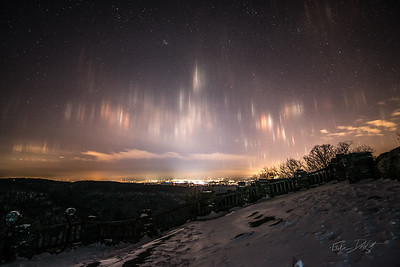 Coopers Rocks_Cross Country Skiing_Light Pilars_Winter_West Virginia_photo by Gabe DeWitt_February 20, 2015-4