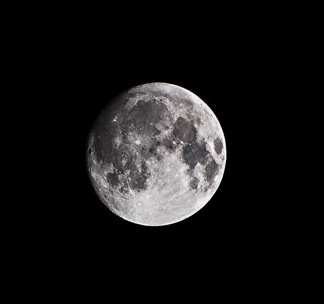 Gabe DeWitt_My First Moon Photo 2007_August 26, 2007-