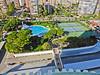 Torres Blancas, back yard<br /> Playa de San Juan, Alicante, Spain