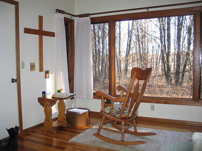 A small cabin for spending silence and solitude with God. Provided by the Pacem in Terris Hermitage Center in St. Francis, MN.  http://www.paceminterris.org/Pacem/Main/PacemHome.asp