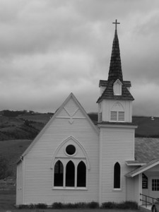 Church in Emigrant, MT