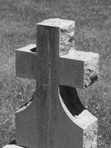 Cross Tombstone, Idaho Falls, ID