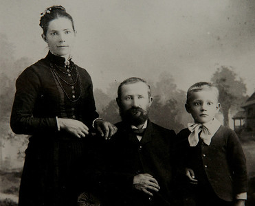 Great Grand Parents:  Katerina, Johan.  Gottleib, who died from diabetes before insulin.