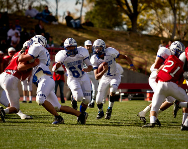 2010 NM state quarterfinal matchup between Academy and Socorro
