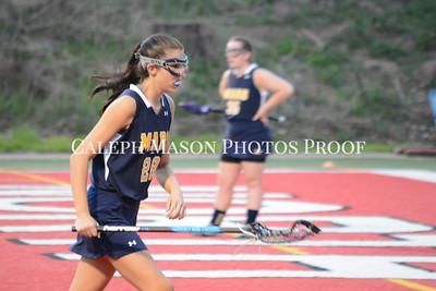 North Hills vs Mars Girls Lacrosse