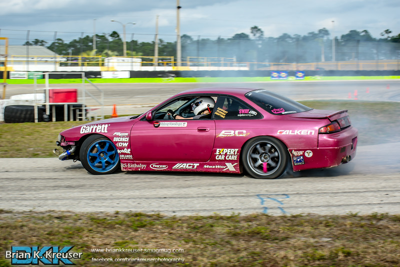Three Palms Drift Round 2 Practice