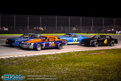 Pure Stock Division at Three Palms Speedway