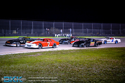 Street Stocks Division at Three Palms Speedway