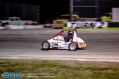 TQ Midgets Round 2 at Three Palms Speedway 01312015