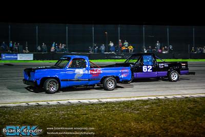 Thunder Trucks at Three Palms Speedway