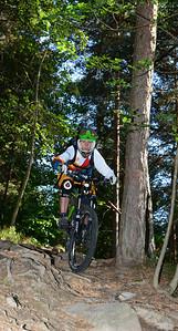Claudi mountain biking