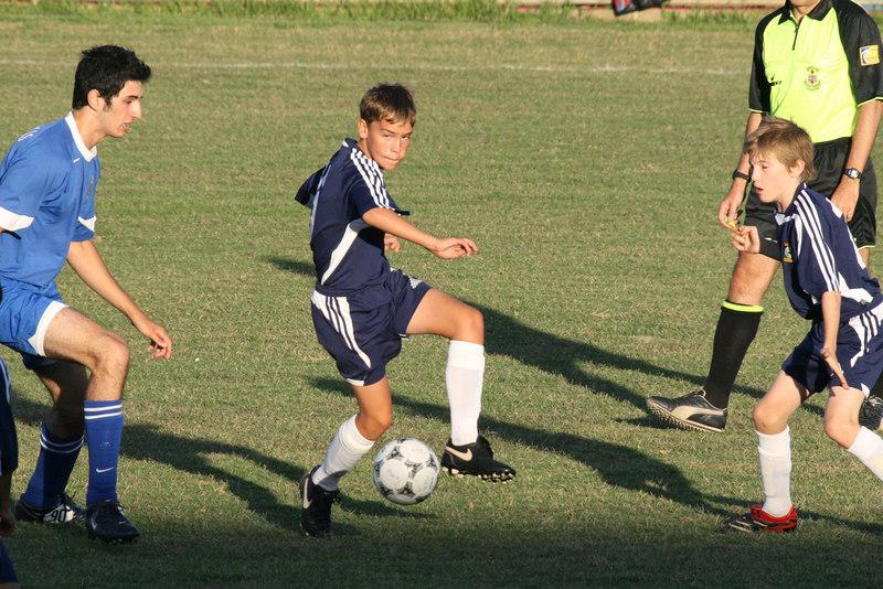 Nerds FC 1 vs NSW Under-12.