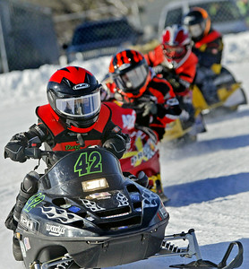 32nd Annual Budweiser Classic Race of Champions Snowmobile Races