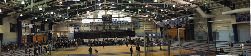 Indoor Track Meet at Christopher Newport University