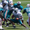 Tristan Davis, Running Back, Miami Dolphins Training Camp, Davie, Florida August 2010