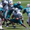 Tristan Davis, Running Back, Miami Dolphins Training Camp, Davie, Florida August 2010