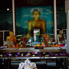 Buddha at Sri Maha Bodi site (Sacred Bo-Tree)