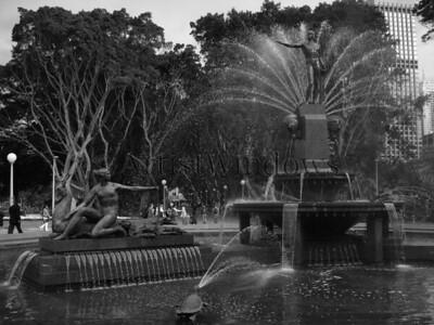 Hyde Park, Sydney, Australia.