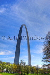 St. Louis Arch and grounds.